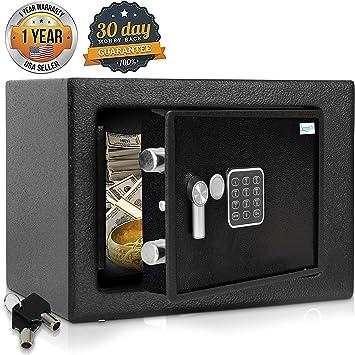 Portable High Security Digital Combination Car Spare Jewel Storage Home Safe Box