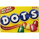 Tootsie Dots Assorted Flavors, 7.5oz Theater Box