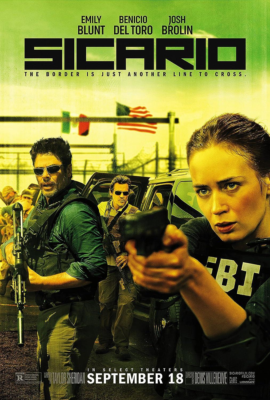 "Amazon.com: WMG Sicario - Movie Poster (24"" x 36"") Glossy Finish ..."