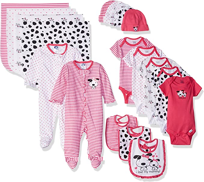 Gerber Baby 19-Piece Essentials Gift Set