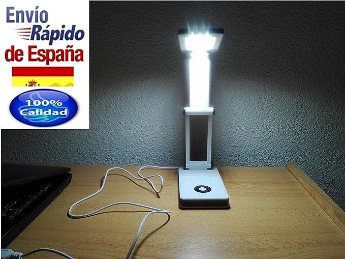 Flexo estudio juvenil juveniles LED. Lámpara de mesa para ...