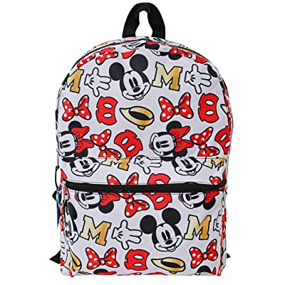 """All Over Print Minnie 16"""" Backpack Standard 