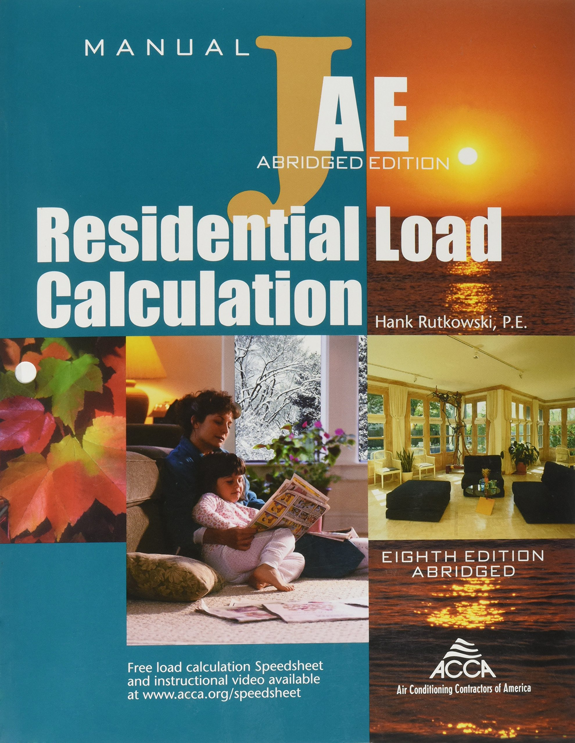 Residential Load Calculation Manual: Hank Rutkowski: 9781892765284:  Amazon.com: Books