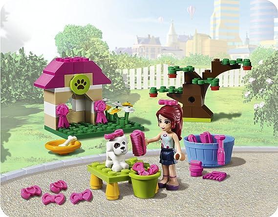 LEGO Friends 3934 - La Caseta del Cachorro de Mia: Amazon.es: Juguetes y juegos
