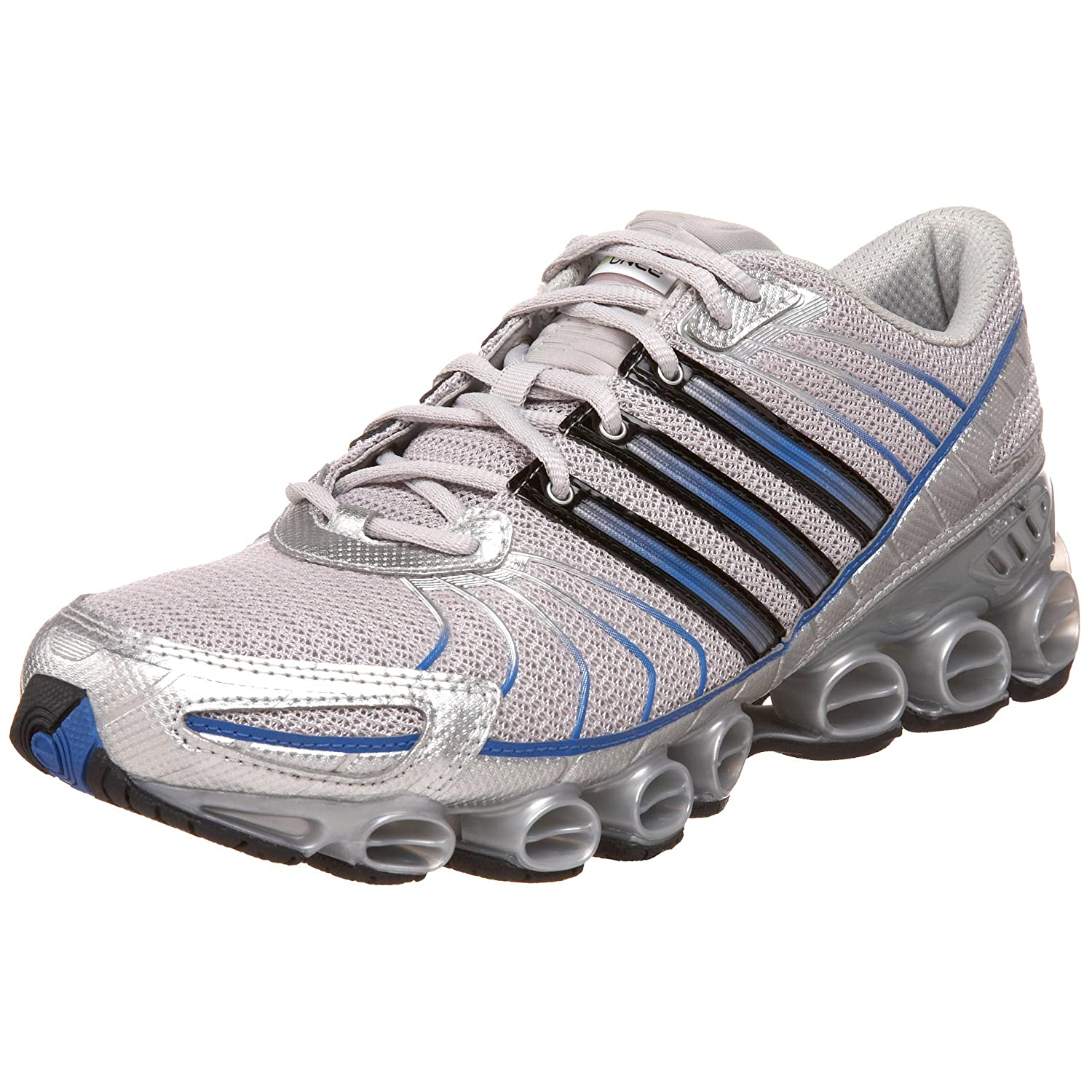 66301f1d368fc Adidas Men's Rava MB Running Shoe, Silver/Blue/Electricity, 8 M: Buy ...