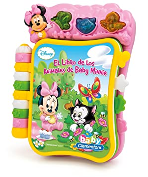 Clementoni Libro Musical Baby Minnie 65047 W10435