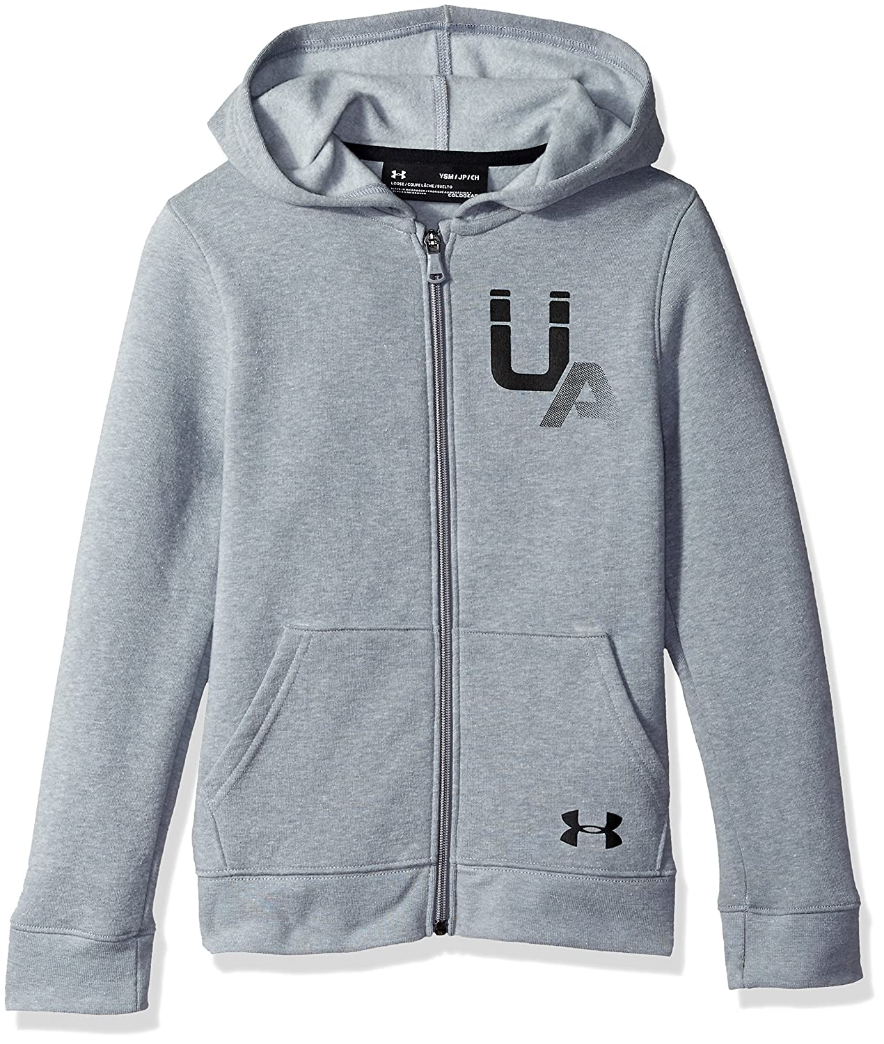 Under Armour Boys Rival Logo Full Zip