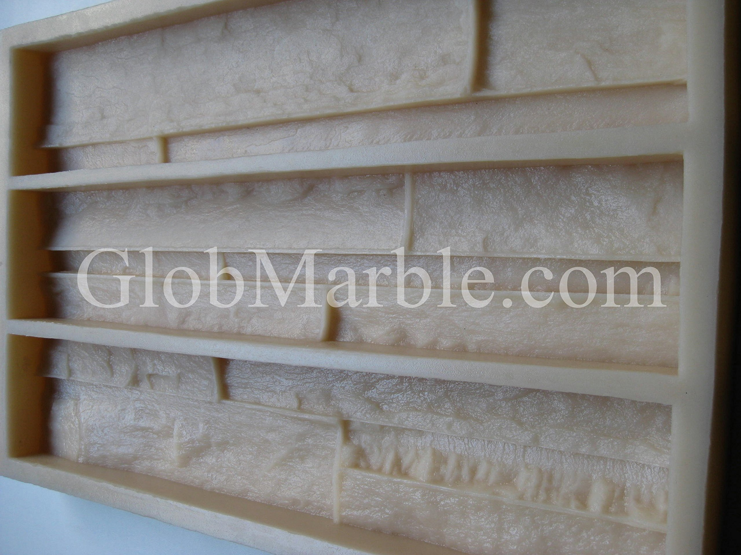 Veneer Stone Mold. Concrete Mold. VS 101/4 by GlobMarble