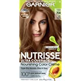 Garnier Nutrisse Ultra Coverage Hair Color, Deep Dark Natural Blonde (Candied Cashew) 700 (Packaging May Vary), Pack of…