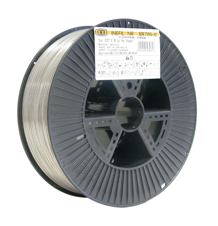 inefil Kupfer gratis er70s-6 .035-inch auf 45-pound Spule ...