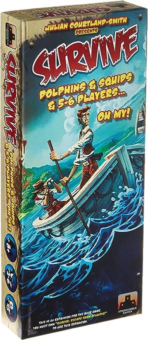 Unbekannt Stronghold Games stg03005 – de Tablero Survive: Dolphins, Squids y 5 – 6 Player EXP. Collection: Amazon.es: Juguetes y juegos