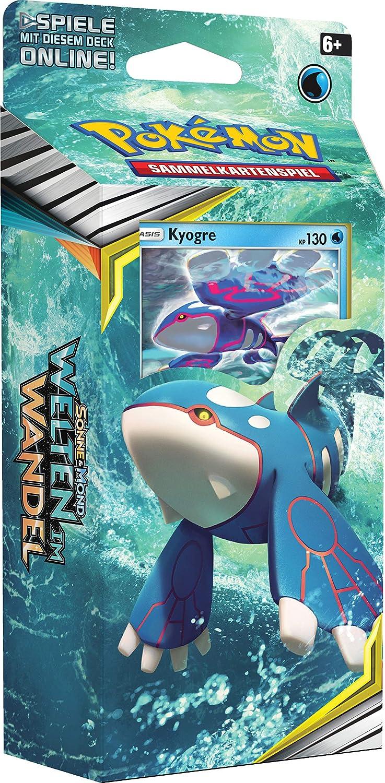 Deutsch Unbekannt Pokemon SM12 1 Themendeck Kyogre Welten im Wandel