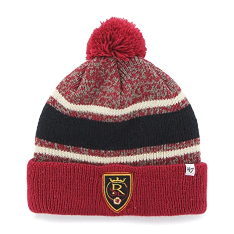 974bb479e16b2 Amazon.com   MLS Real Salt Lake  47 Fairfax Cuff Knit Hat with Pom ...