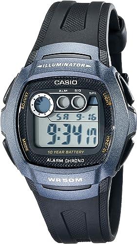 : Casio De los hombres W210 – 1BV clásico reloj