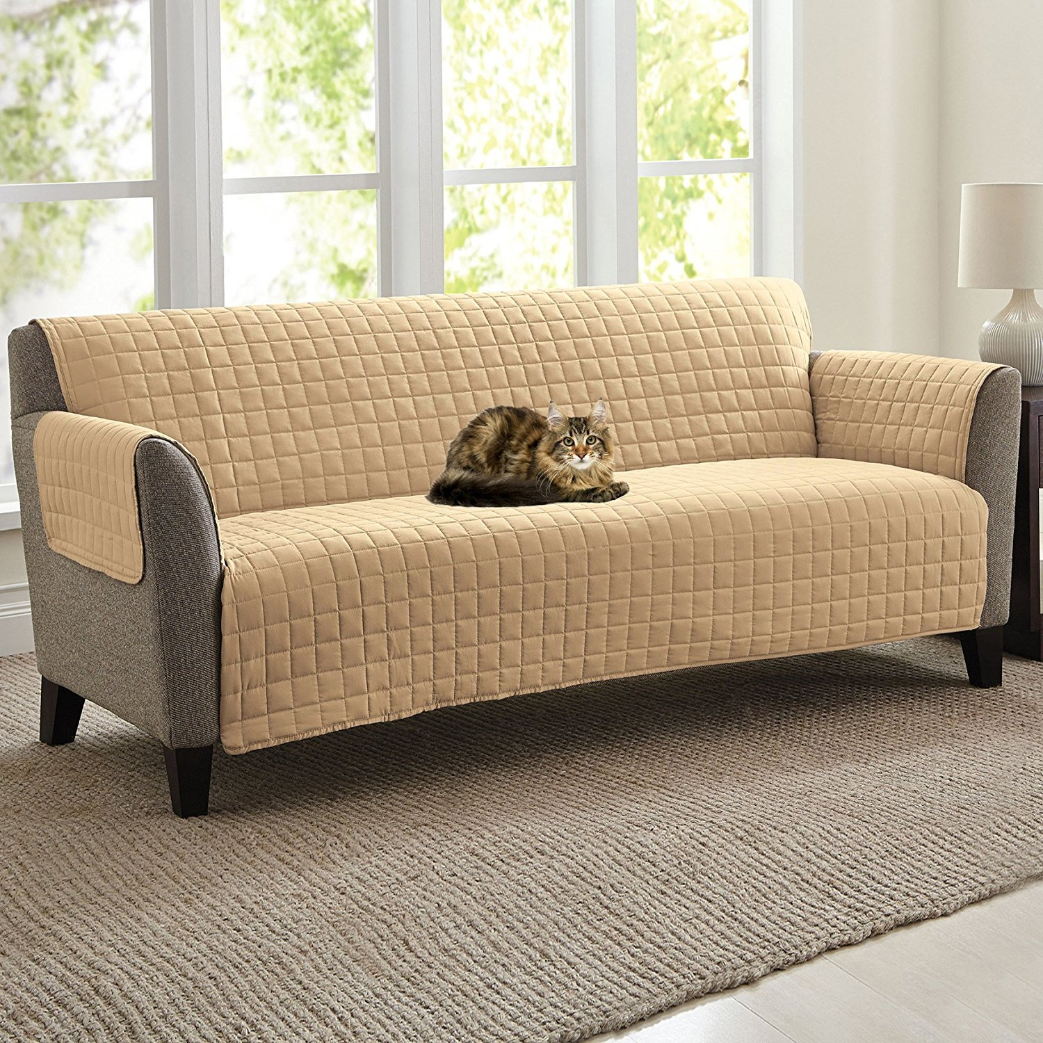 Amazon Quilted Microfiber Pet Dog Couch Sofa Furniture