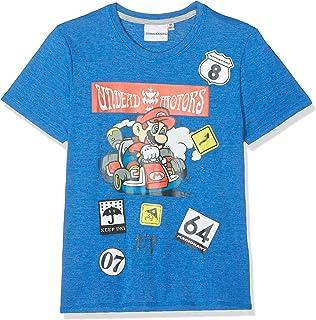 Super Mario Jungen T-Shirt - Blau