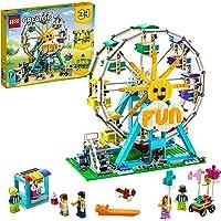 LEGO 31119 Creator 3in1 Reuzenrad Constructie Speelgoed Voor Kinderen Van 9 Jaar en Ouder, Pretpark met 5 Poppetjes