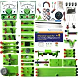 Elesoc STEM Physics Lab Electricity and Magnetism Kit for Students to Do Electric and Magnetic Experiments Universal…