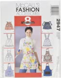 McCall's Patterns M2947 Misses' Aprons, One Size Only