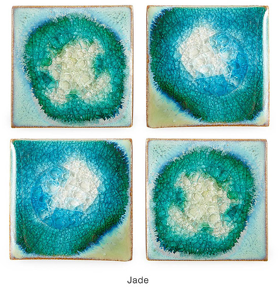 Stoneware and Crackled Glass Coaster Sets | coasters, glazed | UncommonGoods