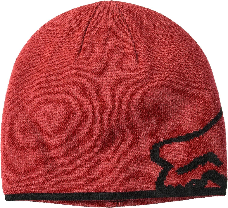 Fox - Gorra de Calavera para Hombre Rojo Cardenal Talla única: Fox ...