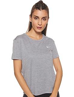 Nike Nk Run SS Camiseta de Manga Corta Mujer