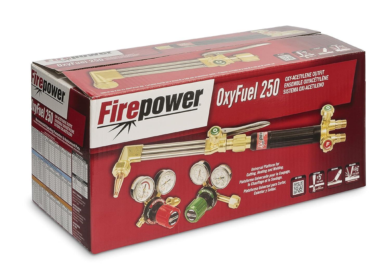 Amazon.com: Firepower 0384-2571 250 Series OxyFuel Medium Duty Acetylene Outfit: Industrial & Scientific