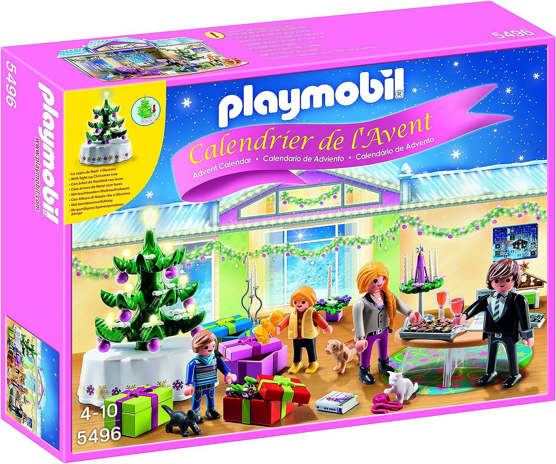 PLAYMOBIL - Calendario de Adviento Habitación de Navidad con Árbol ...