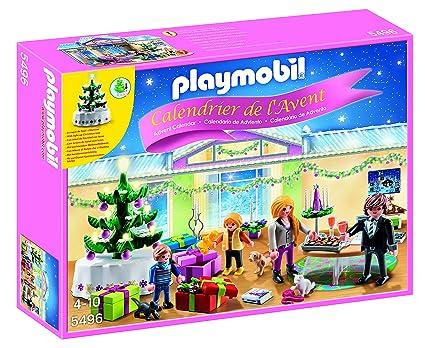 Calendrier De L Avent Playmobil Pas Cher.Playmobil 5496 Calendrier De L Avent Reveillon De Noel