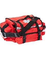 Primacare KB-RO74 Trauma Bag 17-Inch Length X 9-Inch Width X 7-Inch Height, Red