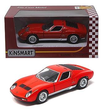 Shunkk Kinsmart Die Cast Metal Lamborghini Miura Diecast With Door