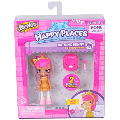 Happy Places Shopkins Single Pack Lippy Lulu: Toys & Games