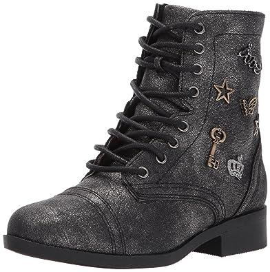 60553e63548 Steve Madden Girls  JRECRUIT Combat Boot