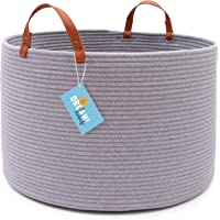 """OrganiHaus XXL Cotton Rope Basket 