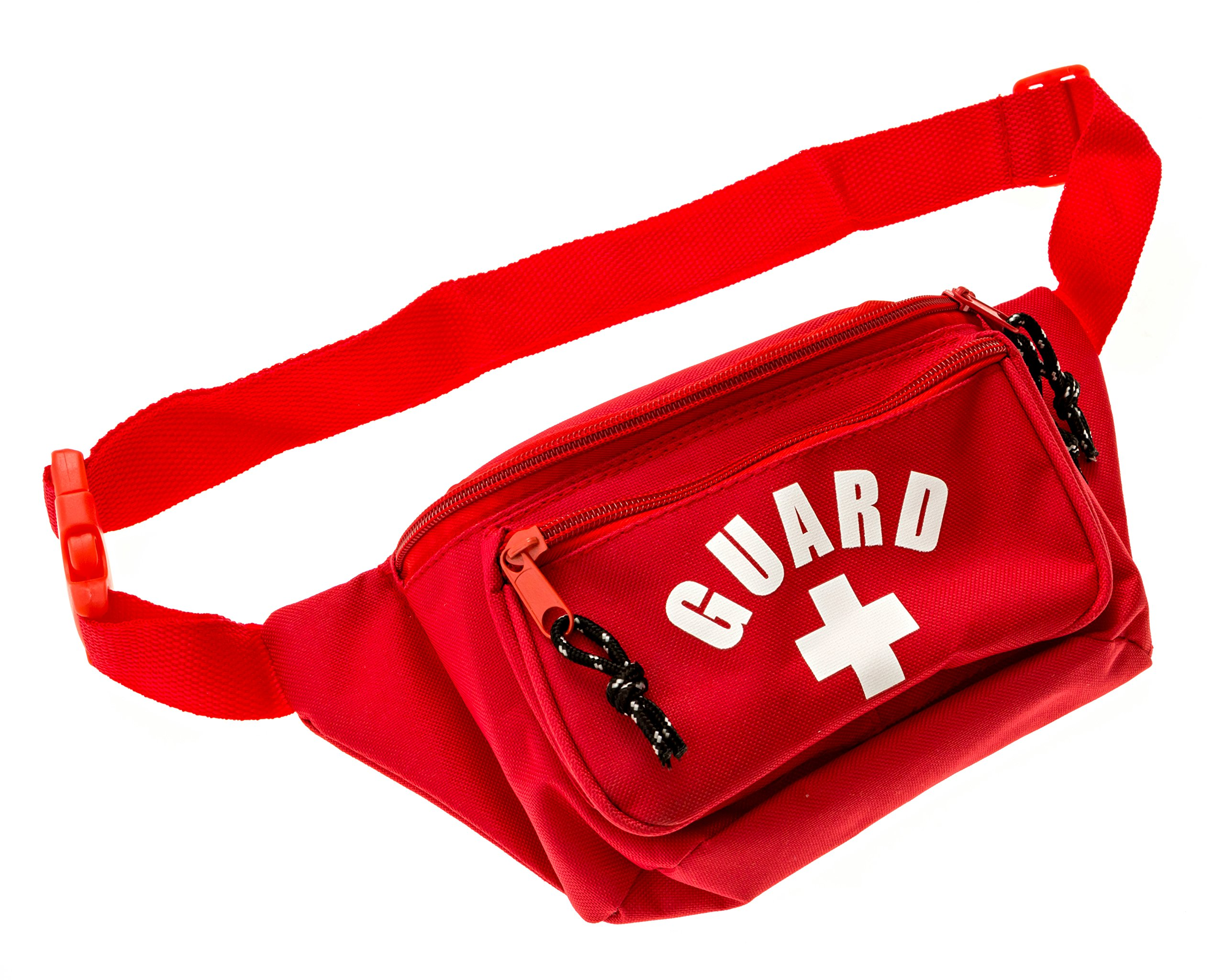 BLARIX Lifeguard Fanny Pack Hip Pack Waist Bag 3 Pockets