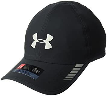 Under Armour Men's Launch AV Cap Gorra, Hombre, Negro (001), One Size