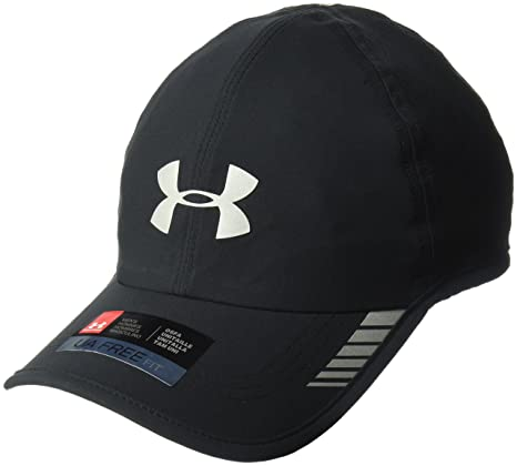 ... greece under armour mens launch armourvent cap black 001 silver one  size e8053 53314 6c4ded796575