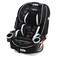 Graco Children 4Ever All-In-One Convertible Car Seat, Rockweave