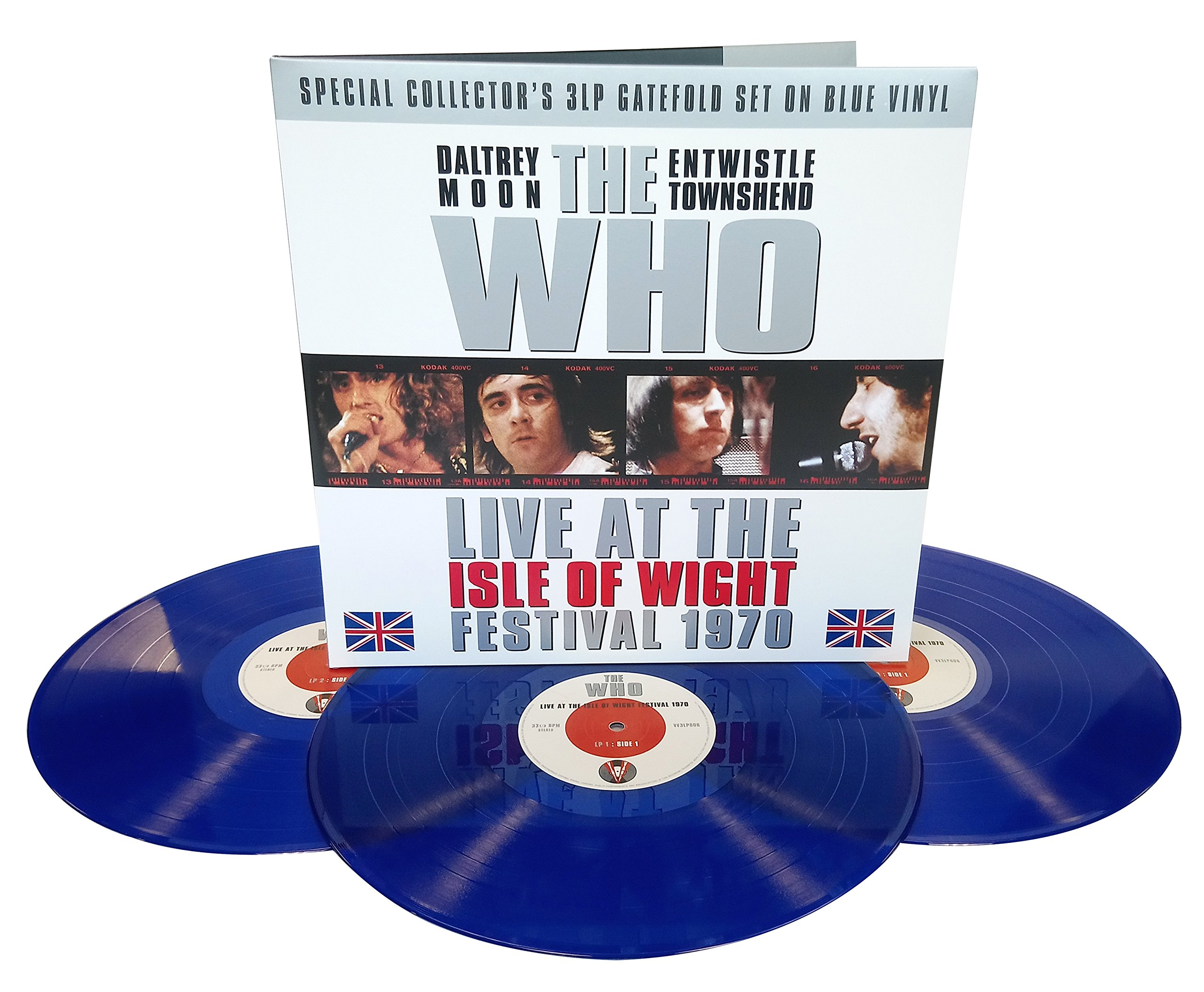 Isle Of Wight Festival 1970 (3LP Gatefold 180g Vinyl) - The Who by VINYL
