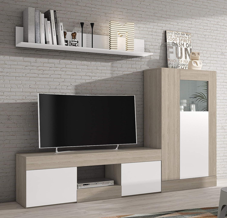 Miroytengo Lote Muebles Comedor Karla 3 módulos mobiliario salón ...