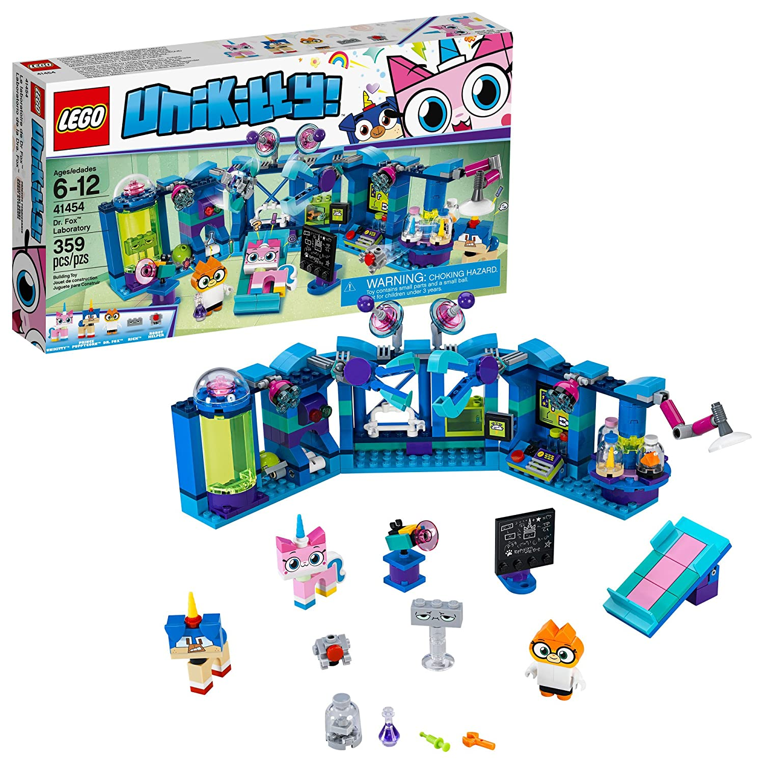 LEGO Unikitty! Dr. Fox Laboratory 41454 Building Kit (359 Piece) 6213846