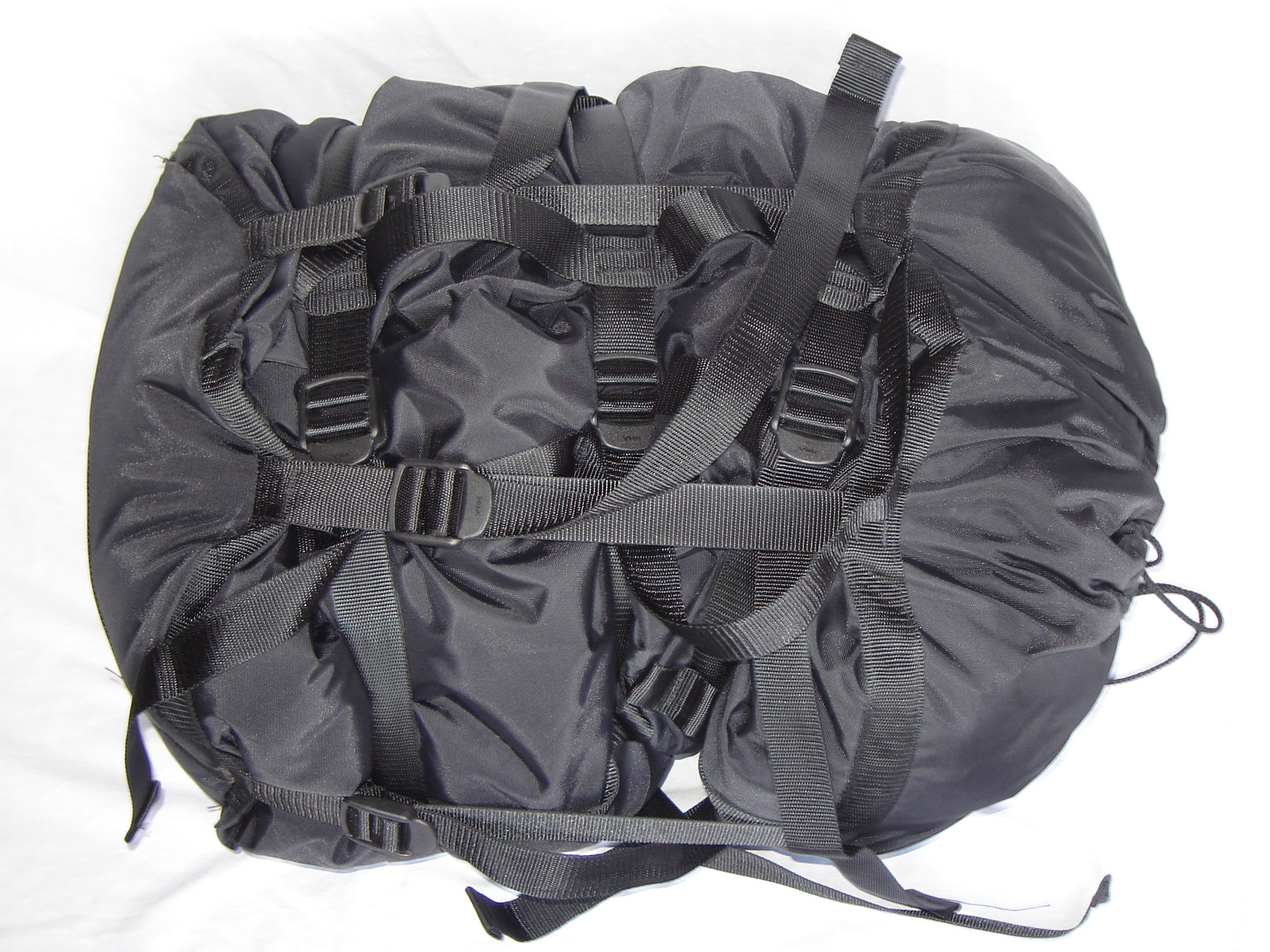 GOVERNMENT CONTRACTOR US Military Sleeping Bag Compression Stuff Sack for MSS, Black by GOVERNMENT CONTRACTOR
