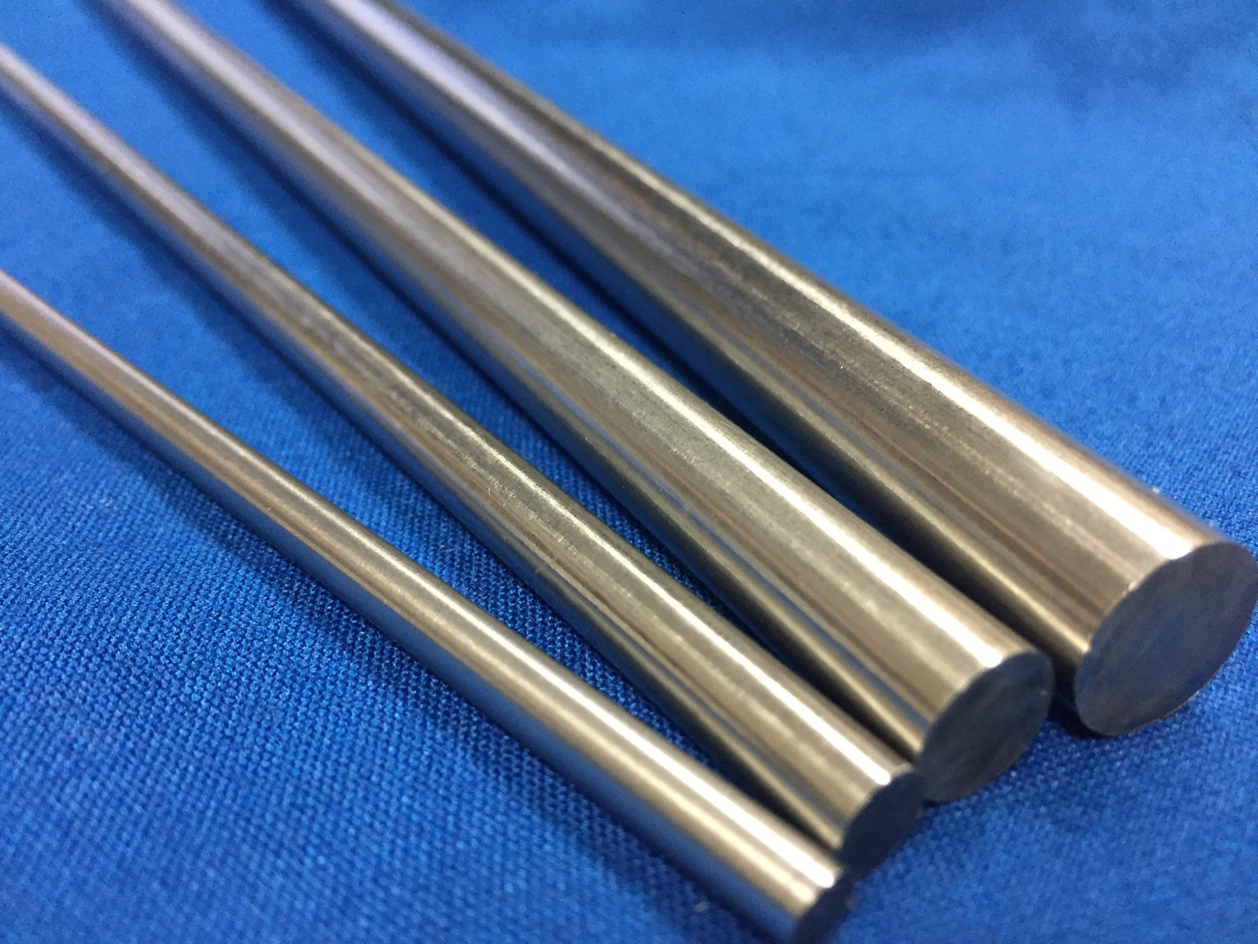 Pure Tungsten Rod Polished