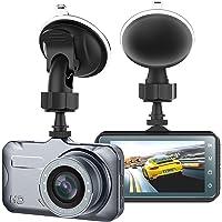 "Dash Cam, Telecamera per auto con Full HD 1080P Telecamere grandangolari da 170 gradi, display TFT da 3,0"", G-Sensor, WDR, Loop Recording"