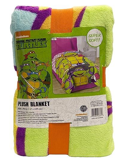 Nickelodeon Teenage Mutant Ninja Turtles I Love TMNT Throw Blanket