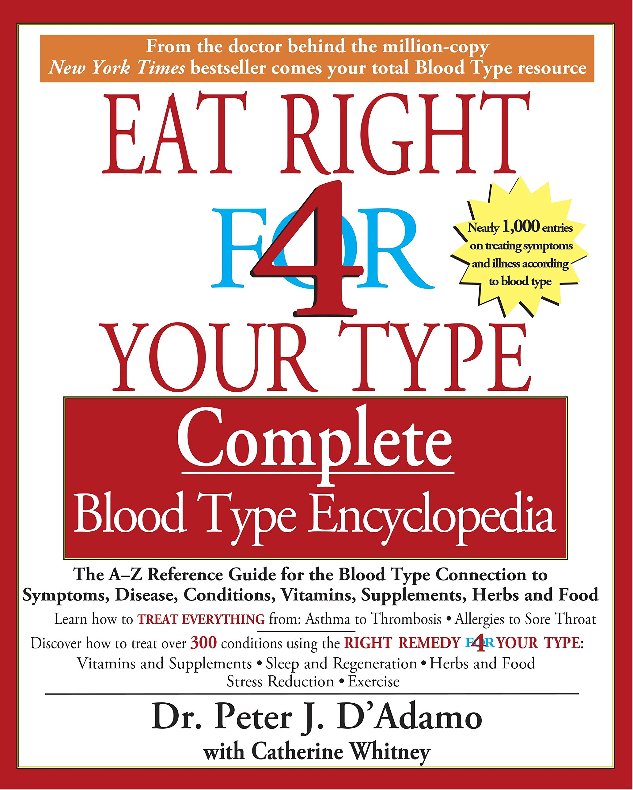 Eat Right Your Type Encyclopedia product image