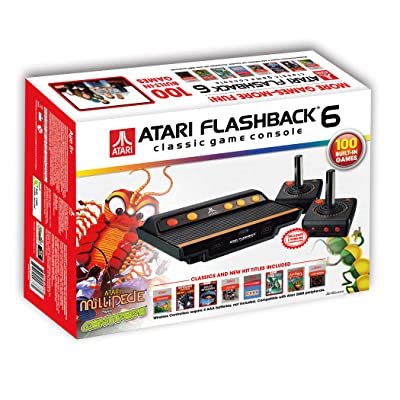 Atari Flashback 6 Classic Game System with 100 Games: Video Games