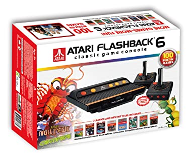 Amazon Com Atari Flashback 6 Classic Game System With 100 Games