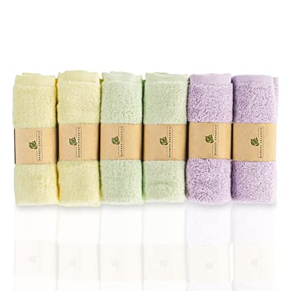 Bamboo Organics - Toallas suaves e hipoalergénicas para bebés - Ideal para pieles sensibles - Paquete