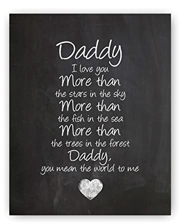 Amazoncom Daddy Gift Daddy Quote Sign Daddy Quotes Best Daddy